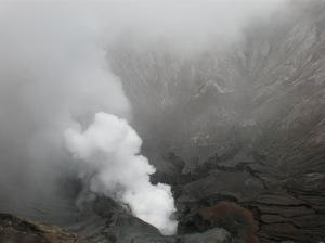 Ini dia Kawah nya Gunung Bromo