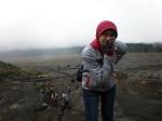 Gaya dulu di kaki Gunung Bromo